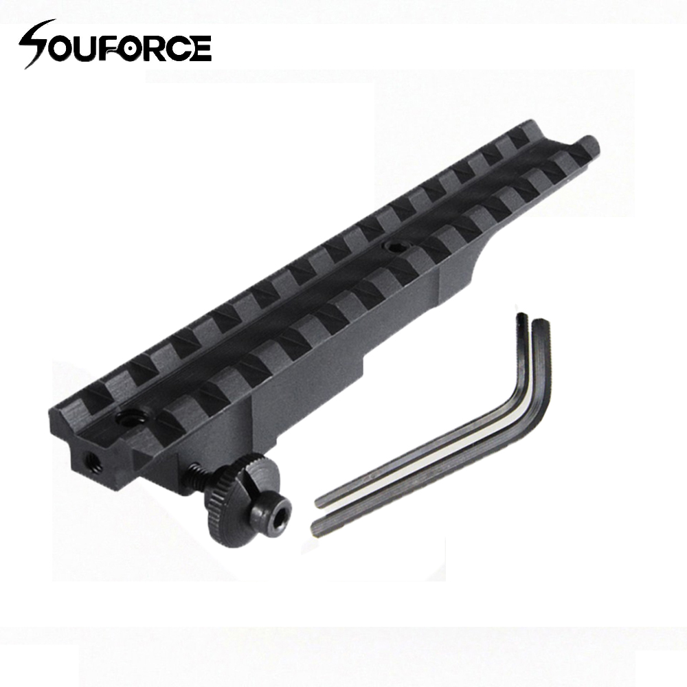 98 K-98 K98 VZ 24 Mil-Spec Scout Picatinny Weaver Rail Scope Base Mount  Rifle Accessories for Hunting