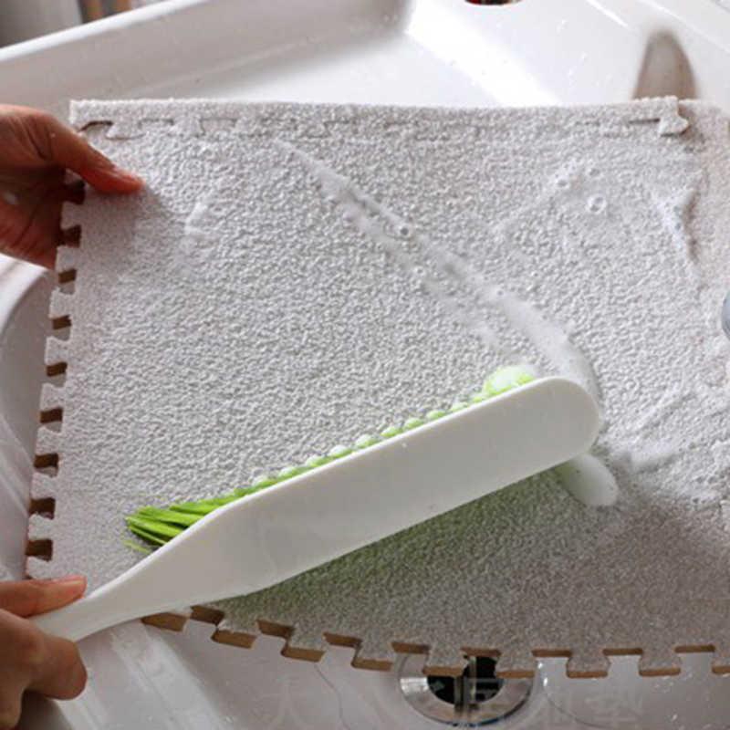 JCC короткий меховой пенопластовый игровой коврик-пазл/детские коврики ковер блокирующий напольный для упражнений для детской плитки 30*30*1 см