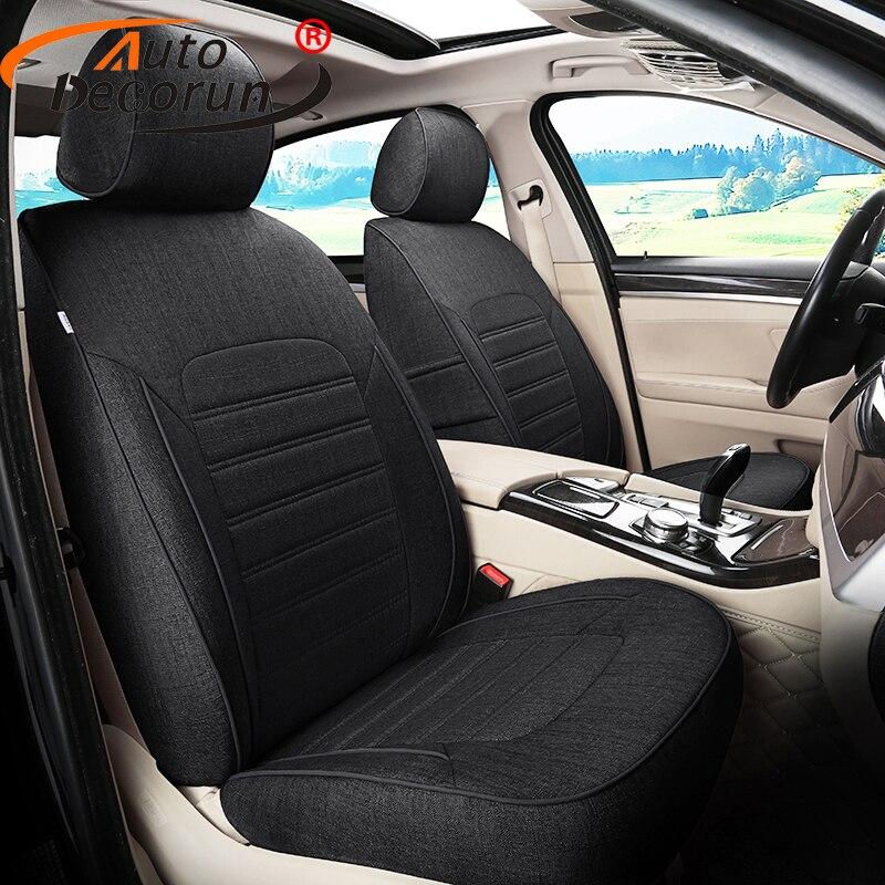 Autodecorun Пользовательские чехол автокресло для Hyundai Гранд Santafe 2017 автомобилей Чехлы для сидений мотоциклов поддерживает автомобильной Салонн