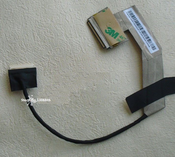 Wholesale WZSM New LCD Flex Video Cable for ASUS EEE PC 1001 1001HA 1005HA 1005PE  laptop Lvds cable P/N 1422-00MK000 wzsm wholesale new lcd flex video cable for hp probook 4540s 4570s 4730s 4740s laptop cable p n 50 4ry03 001