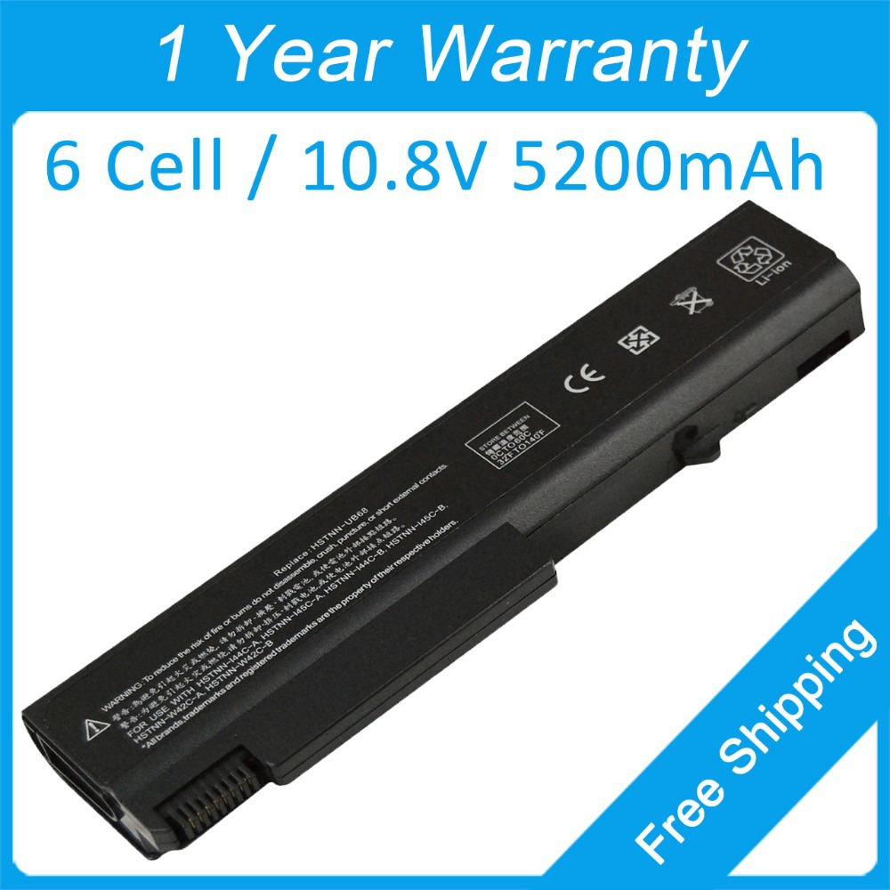 5200mah Laptop Battery HSTNN-W42C HSTNN-144C HSTNN-145C For Hp EliteBook 6930p 8440P 8440W 458640-542 482962-001