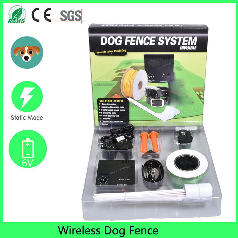 electric dog wireless fence system for small dog