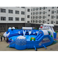 2018 New Inflatable Commercial Water Splash Park/Floating Water Playground Equipment for Sale