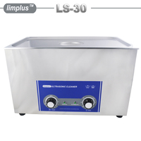 Limplus большой Ёмкость 30l 8 галлонов промышленный ультразвуковой очистки Для ванной 600 Вт AC110/220 Нержавеющаясталь ультразвуковая стиральная м