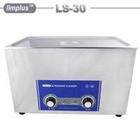 Limplus Large Capacity 30L 8gallon Industrial Ultrasonic Cleaner Bath 600W AC110/220 Stainless Steel Ultrasonic Washing Machine