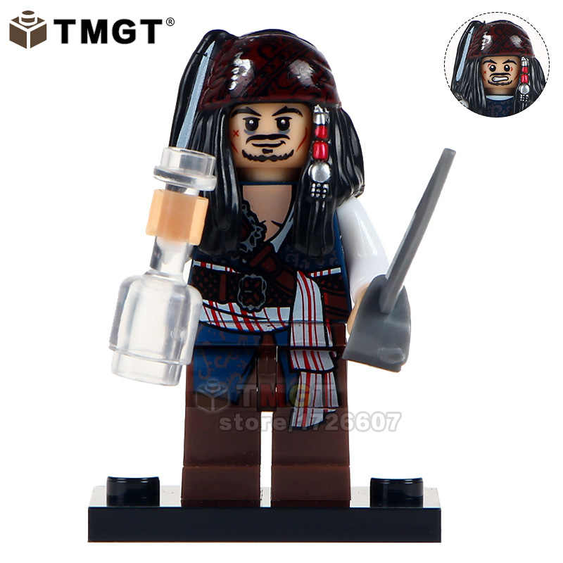 41133e8b730ae TMGT Single Sale Legoings Pirates of the Caribbean Jack Sparrow Henry Scurm Hector  Barbossa Building Blocks