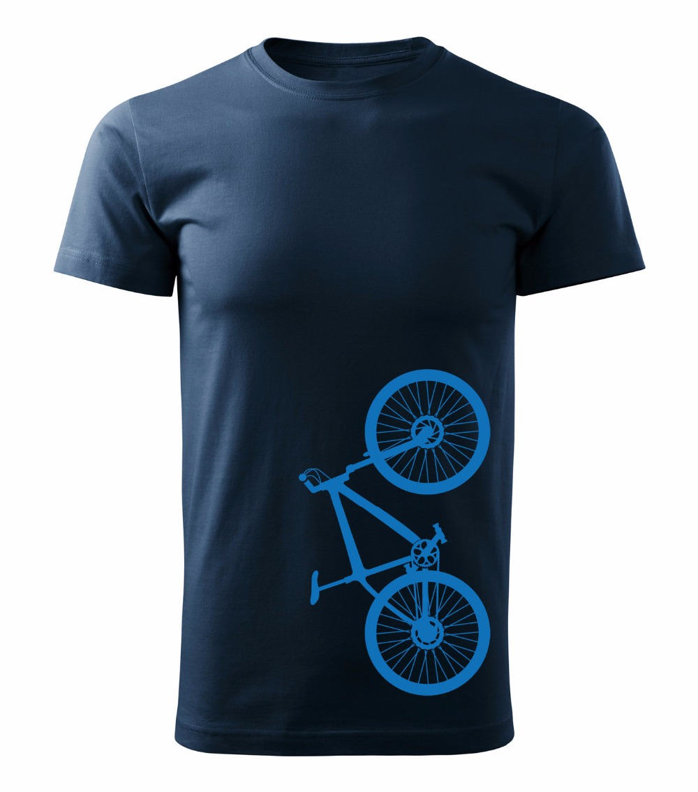 Men 2018 Summer Round Neck Mens T Shirt Hipster Cool O Neck Tops Biker Cycler Bicycle Mountain Biker Cool Tees ...
