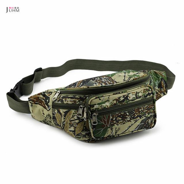 JUHM 2016 Verão de Alta Qualidade Das Mulheres Dos Homens Camuflagem Bolso Cintura Pacotes de Saco de Ombro Único Saco do Bolso Saco de Viagem #2