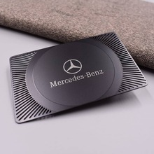 лучшая цена luxurious ntag213/Ntag215/Ntag216 black metal coated RFID NFC metal card black