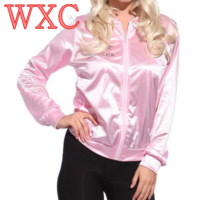 Teen Girls Pink Lady Retro 50s Jacket Fancy Show Clothing Costume