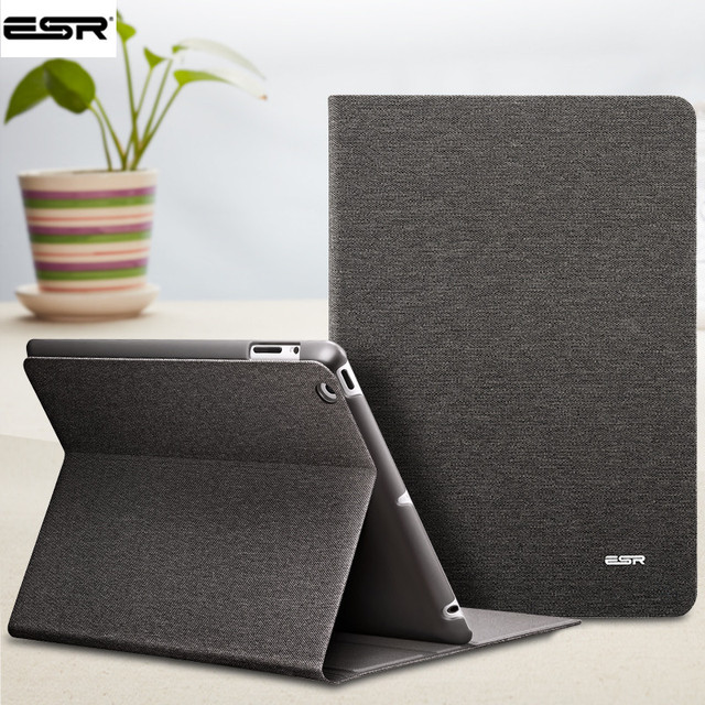Чехол для iPad 2 3 4, ESR из искусственной кожи Smart Cover Чехол-книжка стенд с автоматическим сна/Пробуждение Функция экологии чехол для iPad 2/ 3/4