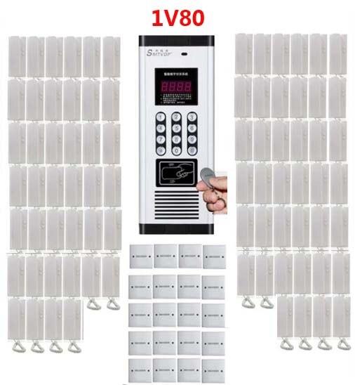 Freundschaftlich Xinsilu Angemessener Preis Non-visuelle Gebäude Intercom System In Verarbeitung Für 80-apartment Audio Tür Telefon Id Card & Passwort Entsperren Funktion Exquisite