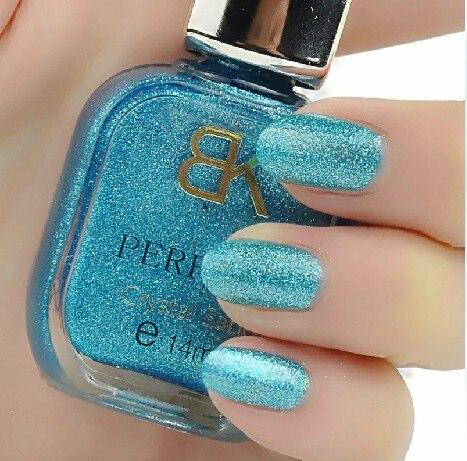 Bk nail polish oil sand nail polish oil set eco-friendly 24 nail polish oil silver paillette nail art supplies