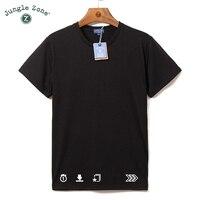 Hiphop straat T-shirt groothandel mannen plus size O-hals korte mouwen t-shirts thermische transfer tshirt pictogram serie t-shirt ontwerp