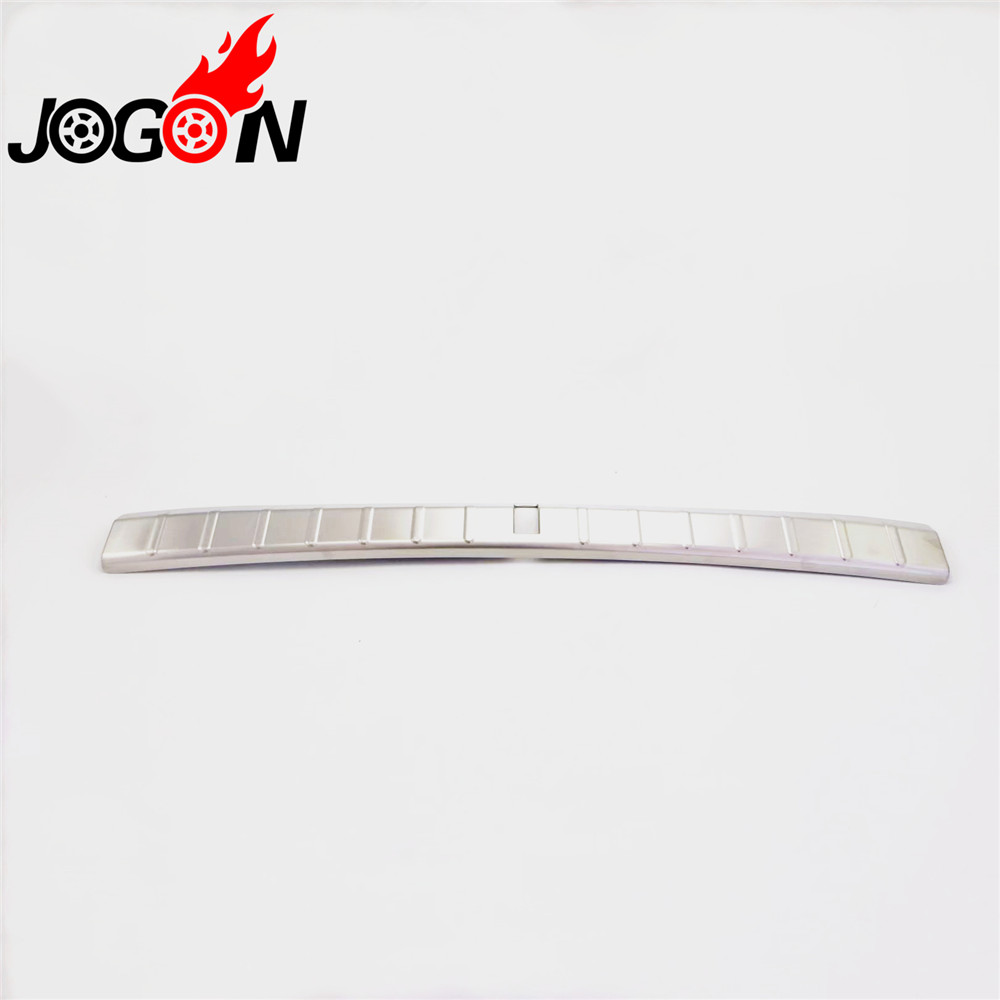 Stainless Steel Car Inner Rear Bumper Protector Tailgate Trunk Guard Sill Plate Scuff Trim Cover For BMW X2 F39 2018 2019 abs car inner rear bumper protector tailgate trunk guard sill plate scuff trim cover for nissan x trail x trail rogue 2017 2018