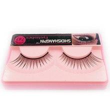 1 Pair Women Makeup Eyelashes False Lashes Brand Makeup Natural Long Eyelash Extension Black Faux Fake Eyelashes