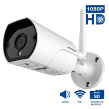 High Quality Camera font b Wireless b font Wifi HD 1080P IP Cam Cheap Security Camera