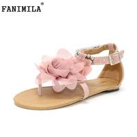 CooLcept Free Shipping Flat Bohemia Sandals Women Sexy Fashion Lady Shoes P11881 Hot Sale EUR Size