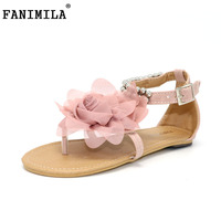 CooLcept Free Shipping Flat Bohemia Sandals Women Sexy Fashion Lady Shoes P11881 Hot Sale EUR Size