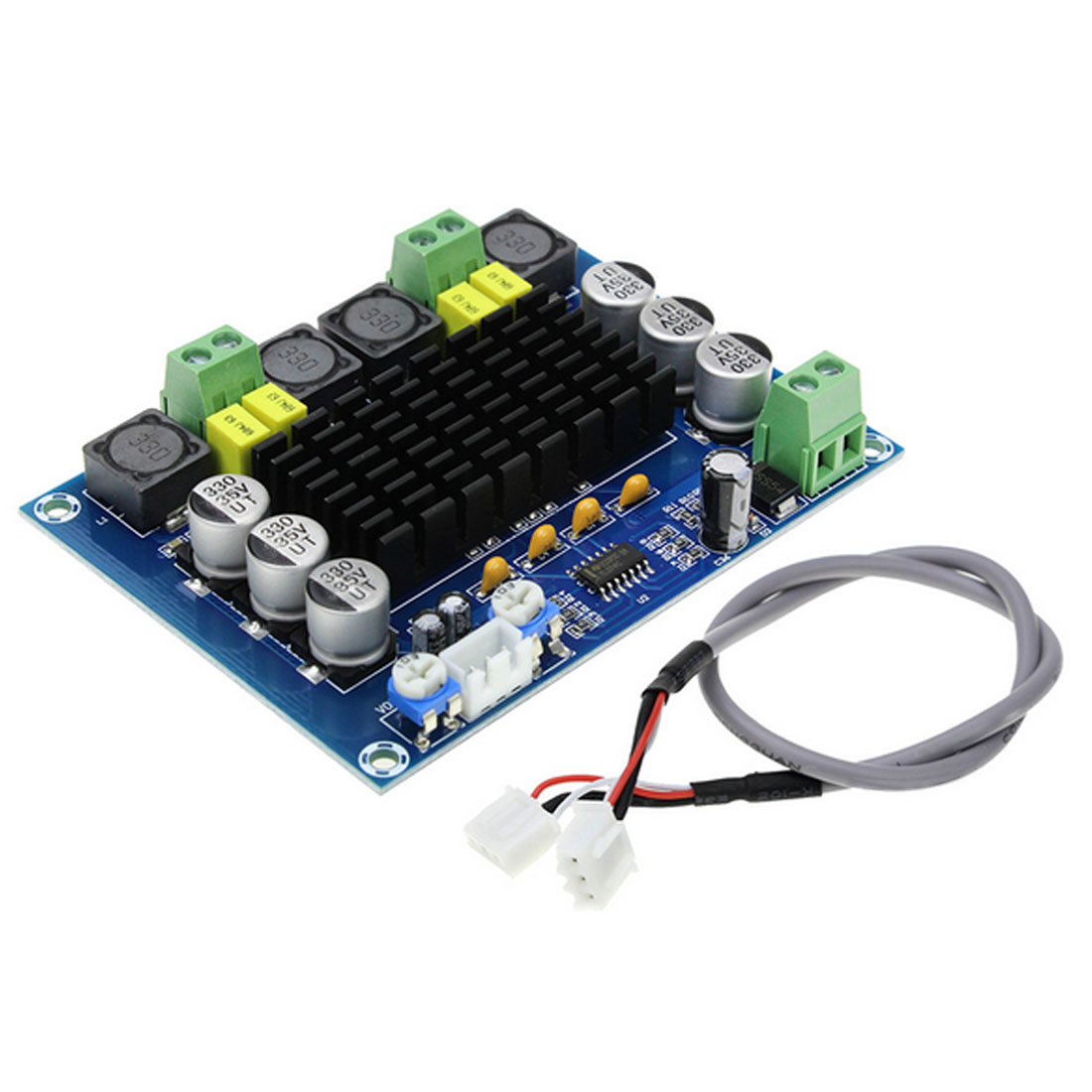 Marsnaska New High Quality TPA3116D2 Dual-channel Stereo High Power Digital Audio Power <font><b>Amplifier</b></font> Board 2*<font><b>120W</b></font> XH-M543 image