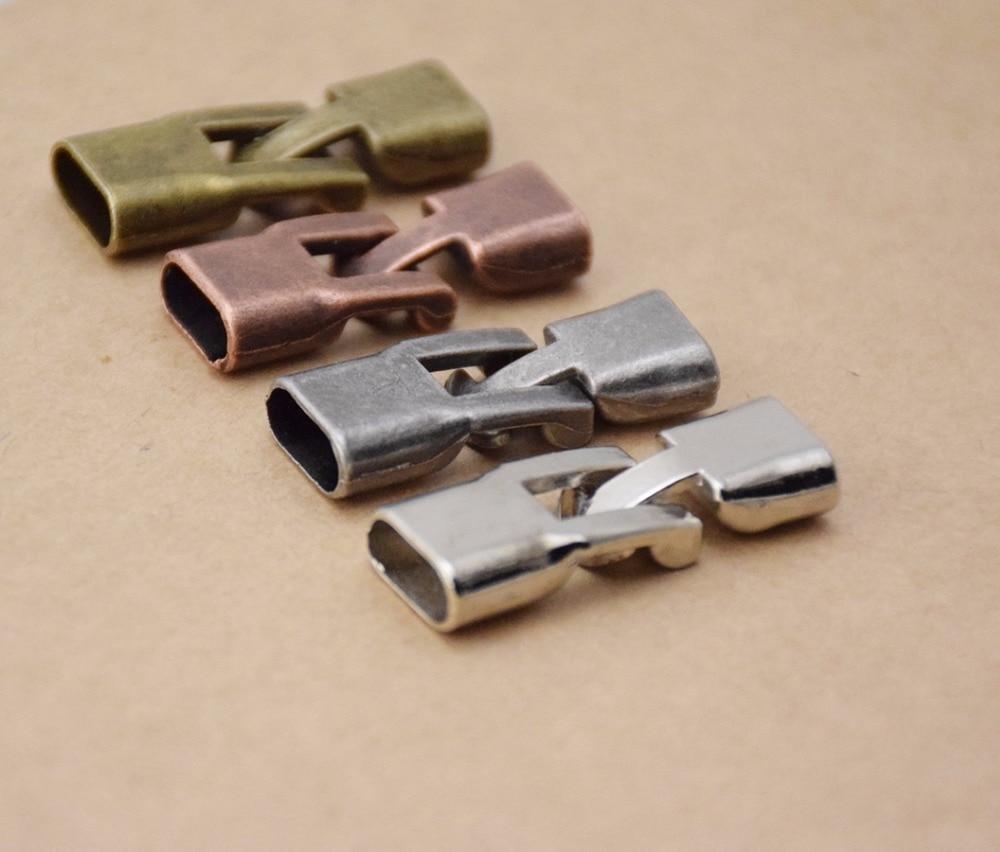 10X/lot 4cm long 3 colors clasp accessory components for DIY jewelry bracelets