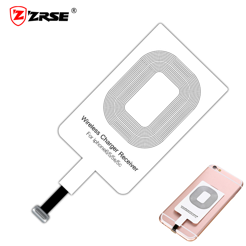 zrse qi wireless charger receiver for iphone micro usb. Black Bedroom Furniture Sets. Home Design Ideas