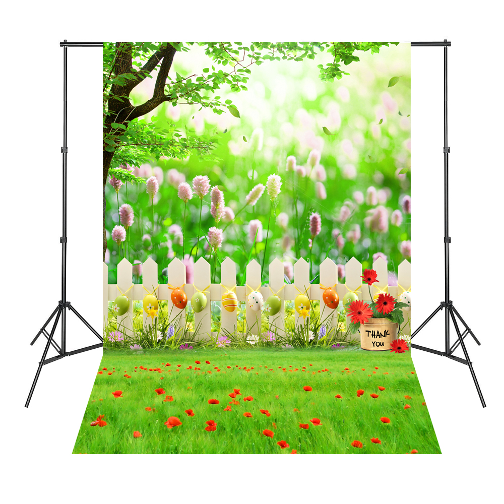 Green Trees Green Leaves Grass Baby Newborn Background Fond Studio Photo Vinyle Backdrop Photography