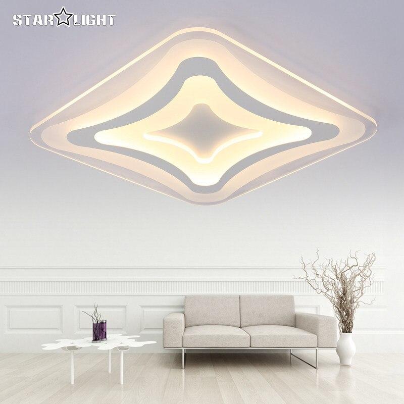 Moderne led-deckenleuchte Quadratisch rechteck wohnzimmer lampe ...