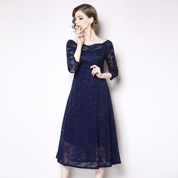 6d3798b22e9 2019 женское платье с вырезом лодочкой