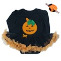 Baby Clothes Halloween Costume for Baby Infant Party Dress Tutus Newborn Jumpsuit Pumpkin Long Sleeve Romper Outfit Clothes Sets