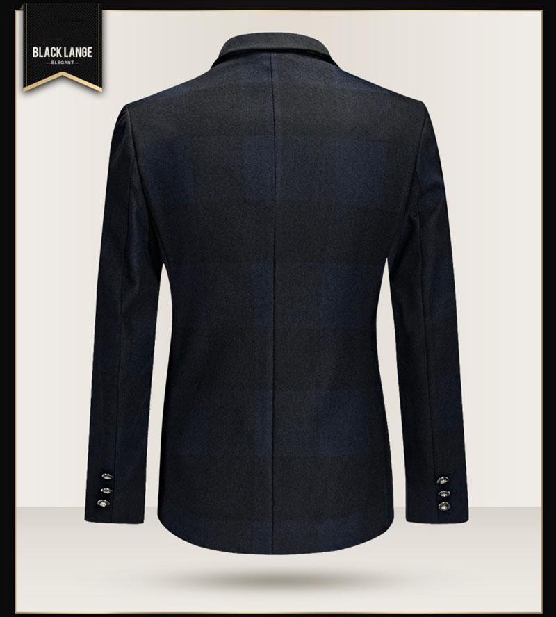 37957913064 FKZ New Basic Trajes Para Hombre Negro Sin Pantalones de Vestir de ...