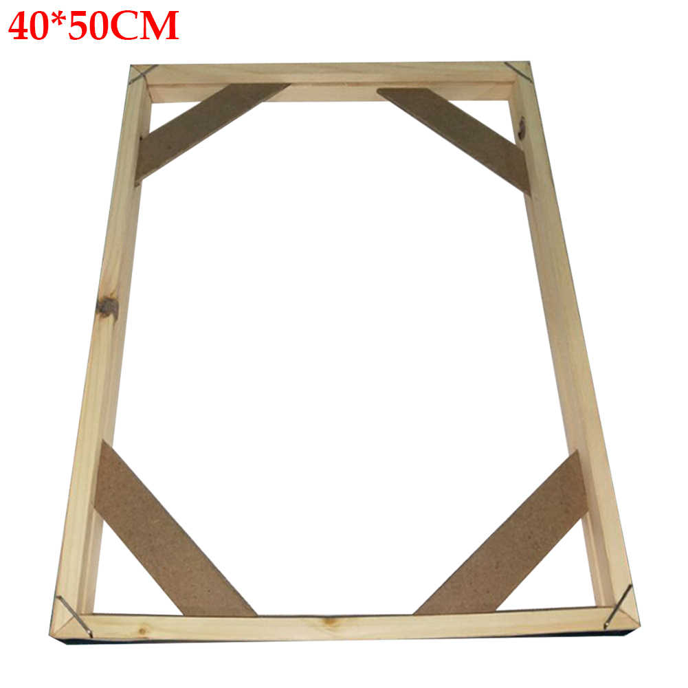 Gift Decoration Steady Desk Home Fixed Easy Use Stand Crafts Rectangle Photo Frame Painting Picture Durable Wooden