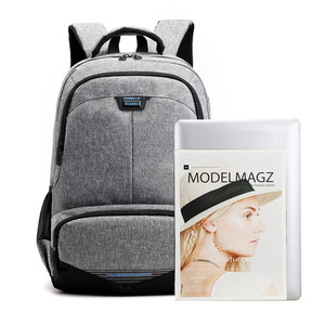 Image 4 - Fashion Backpack 2020 Men Backpack Student Charging Laptop Wear Backpack Resistant Pack SchoolBags For Teenage Boys Mochila