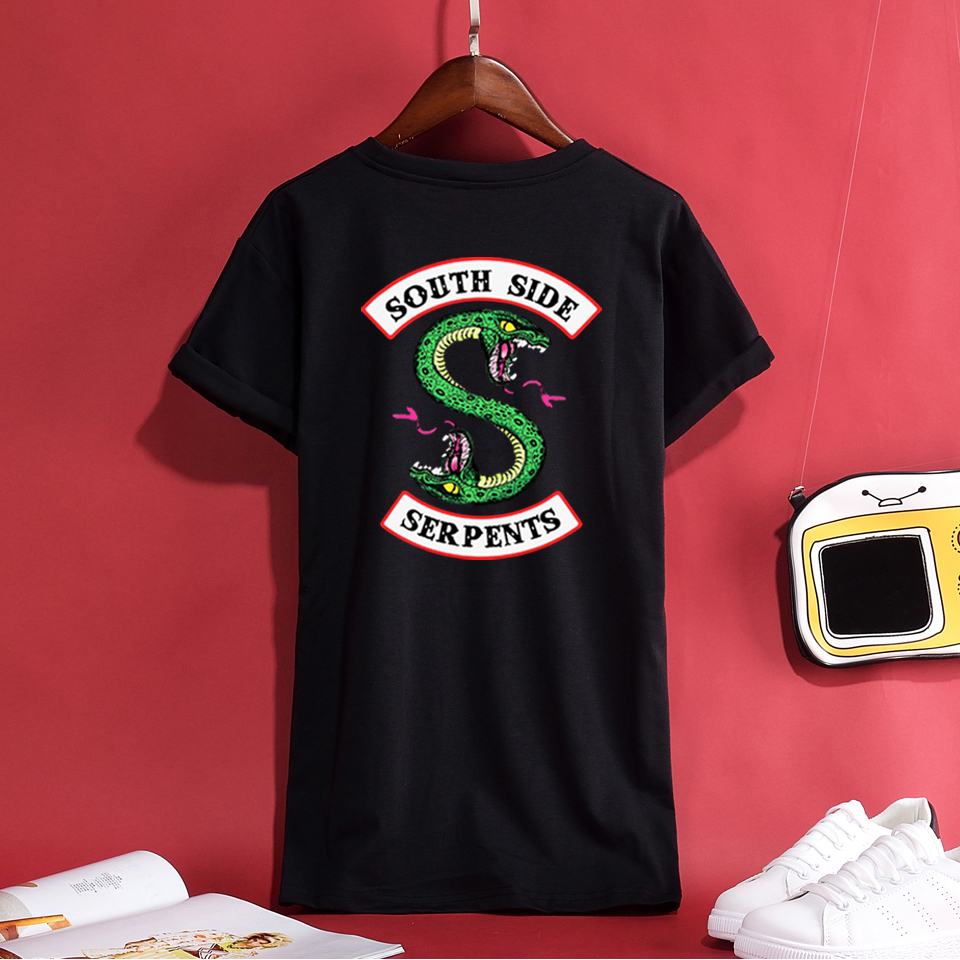 Trendy Riverdale Women/Men Summer T-Shirt Casual Personality Quality 100%Cotton Hipster Like Breathable Comfortable Top Hot Tees
