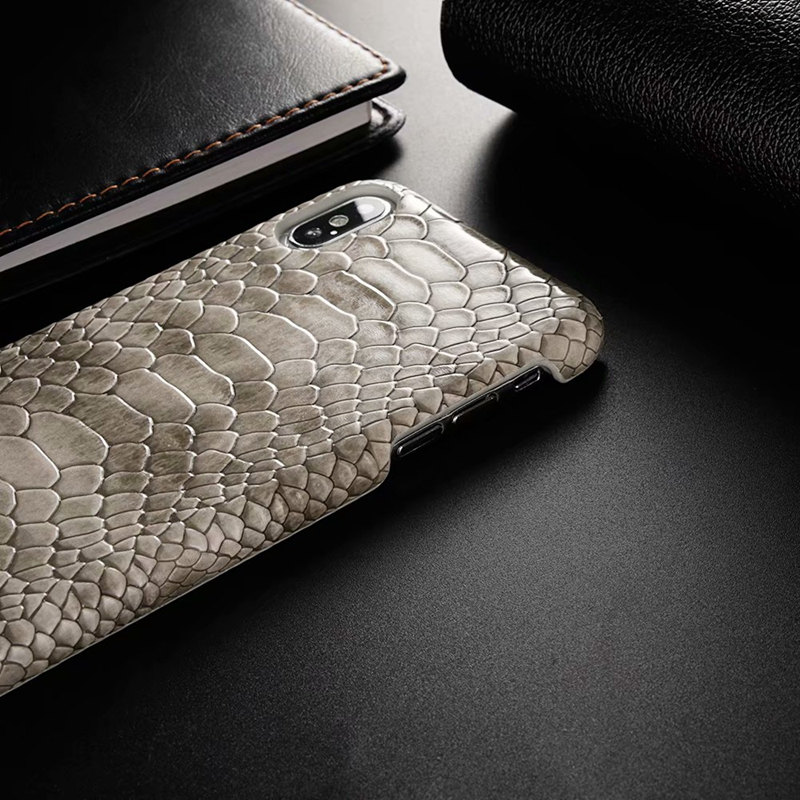 snake pu leather case (5)