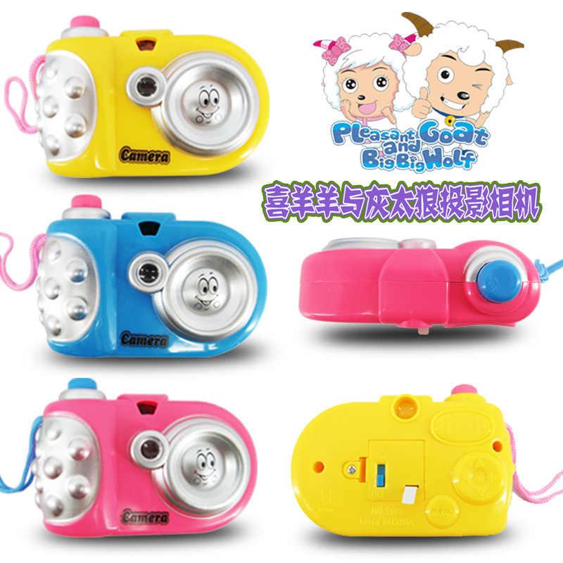 2019 Лидер продаж 10 см * 4 7 герои мультфильмов световой проекции камера детские развивающие игрушки Праздничные подарки