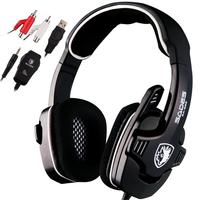 Professional Game Kit Gaming Headset For XBOX 360 Surround Sound Stereo For PS3 Headphones With Microphone