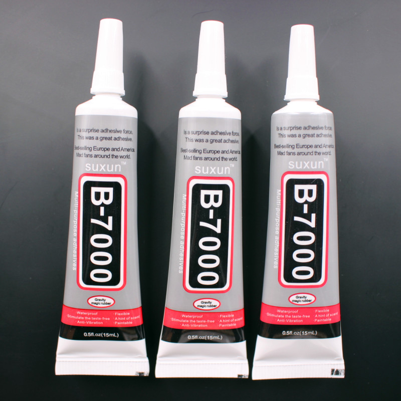 B7000 Glue 15ml Industrial Strength Super Adhesive Clear Liquid B-7000 Glue Diy Phone Case Crafts Pearls Jewelry Rhinestones dark rose non hotfix resin rhinestones 1000 10000pcs 2 6mm imitation glue on diamonds diy nails art phone cases accessories