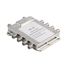 Portable 2in 8out Satellite Signal Multiswitch 950-2150MHz LNB Voltage Selected Switch Low Loss LNB Receiver Multiswitch gst 8101 8 in 1 satellite signal diseqc switch lnb receiver multiswitch wholesale