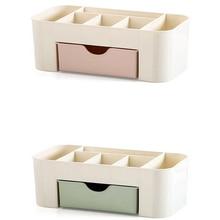 Desktop Storage Box Cosmetics Makeup Drawer Type Saving Space