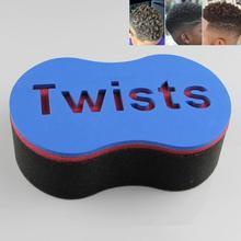 Men Double Wave Magic Hair Twist Sponge Brush Dreadlocks Curly Brush Sponge Newest все цены