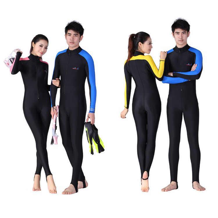 Lycra dive skin voor duiken, UPF4 + snorkelen en water sport jumpsuit zwemkleding wetsuit groothandel