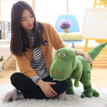 40-100cm New Dinosaur Plush Toys Cartoon Tyrannosaurus Cute Stuffed Toy Dolls for Kids Children Boys Birthday Gift(China)