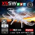 Syma X5SW игрушки вертолет на радио управление квадрокоптер с камерой дрон вертолет Quadrocopter дрон с камерой любопытное дрон с камерой HD FPV дрон профессиональный квадрокоптер дистанционного управления dron
