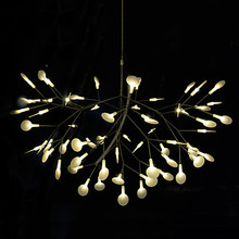 The high quality Creative  Pendant Light Modern Northern Europe Tree Leaf Lamps Lightings