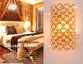 Free Shipping Modern crystal K9 wall lamp aisle lights gold wall lights bed-lighting stair lamp wall Sconce lights