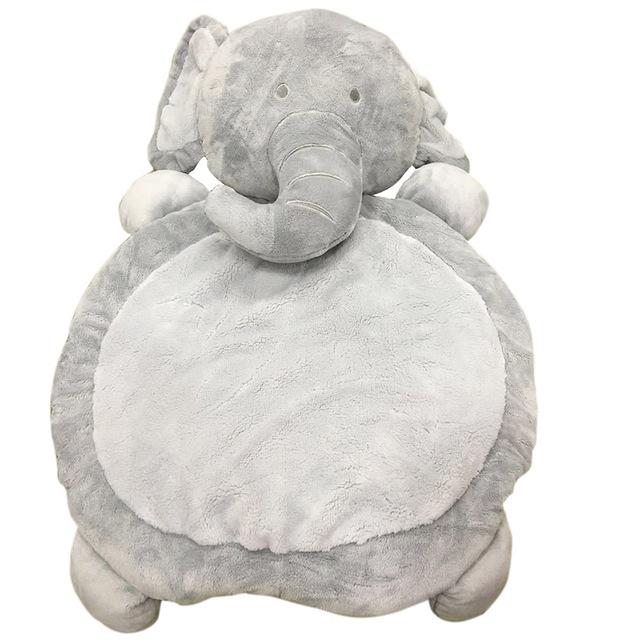 Novas Crianças Do Bebê Animal De Pelúcia Jogo Esteira do Jogo Mat Crawling Tapete Cobertores Sono Algodão Seguro Macio Relaxar Urso forma de Elefante
