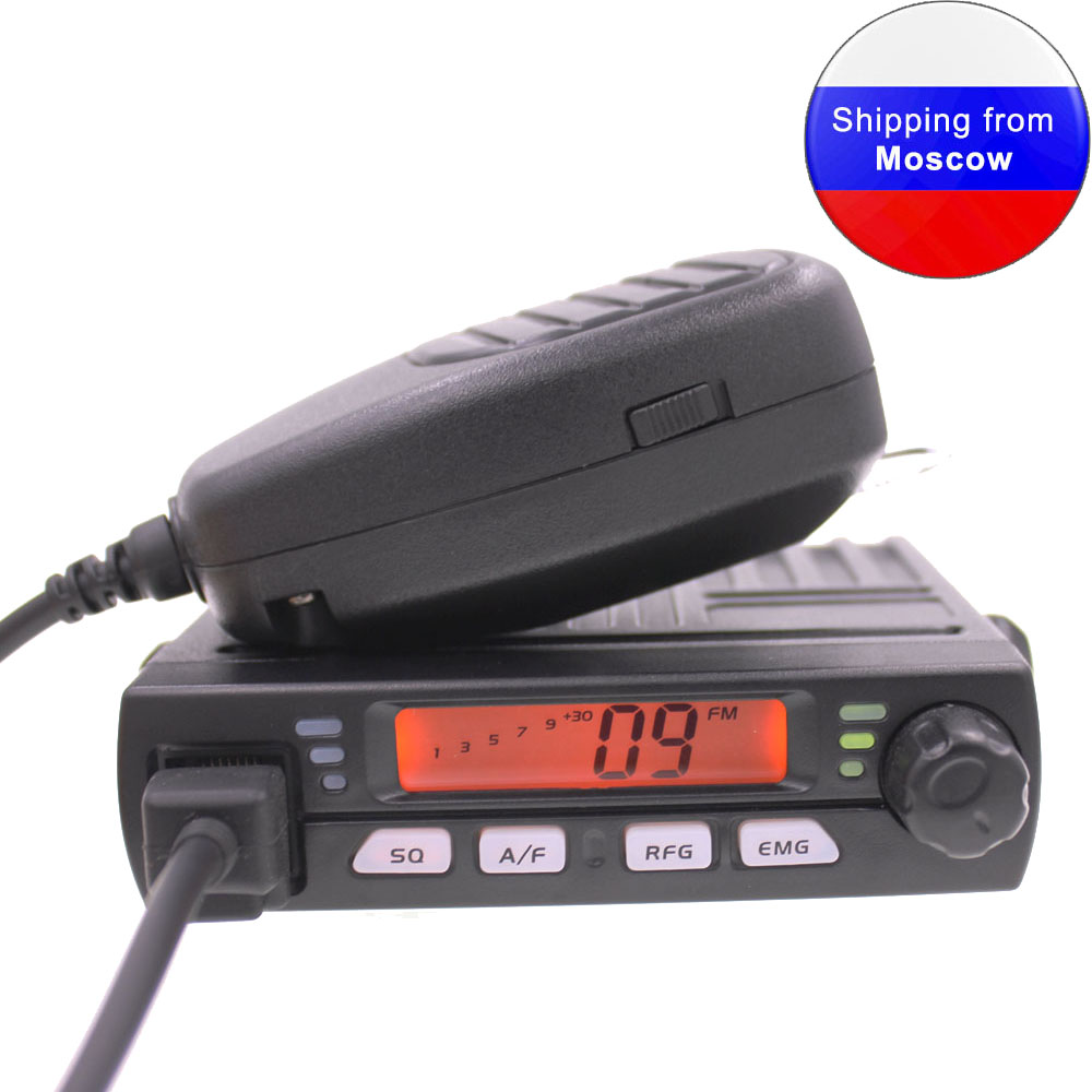 New ANYSECU AM/FM Mini Mobie Radio CB-40M 25.615--30.105MHz 8W Walkie Talkie 10M Amateur Car CB Radio