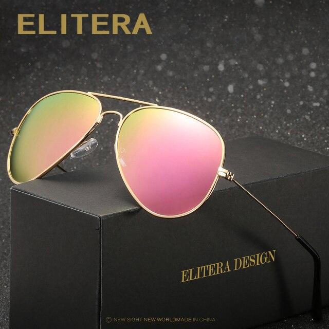 055c25edb00b4 ELITERA Brand Sunglasses Retro Classic Designer Men Sunglasses Alloy  Polarized Sun Glasses Driving UV400 Oculos