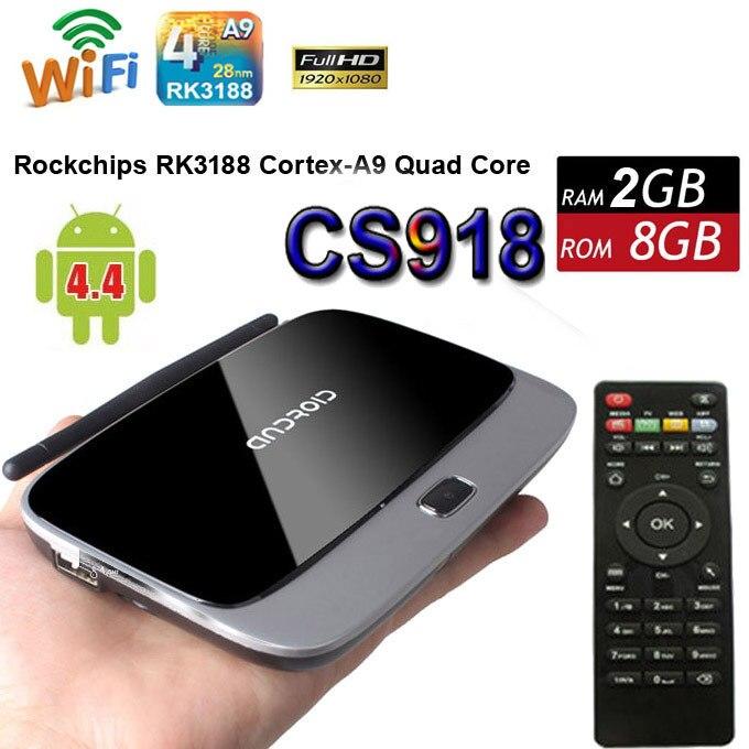 5 teile/los cs918 android 5.1 tv box rk3229 quad core 2g 8g...